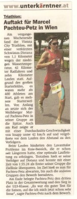 Vienna City Triathlon 2016 Zeitung 001